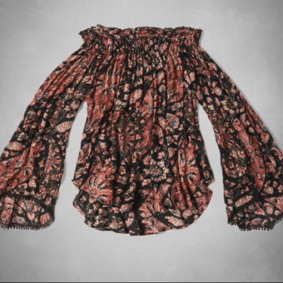 Tops - Floral Abercrombie top